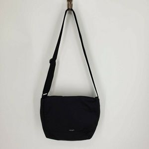 Kate Spade Nylon Messenger Bag Black Cross Body